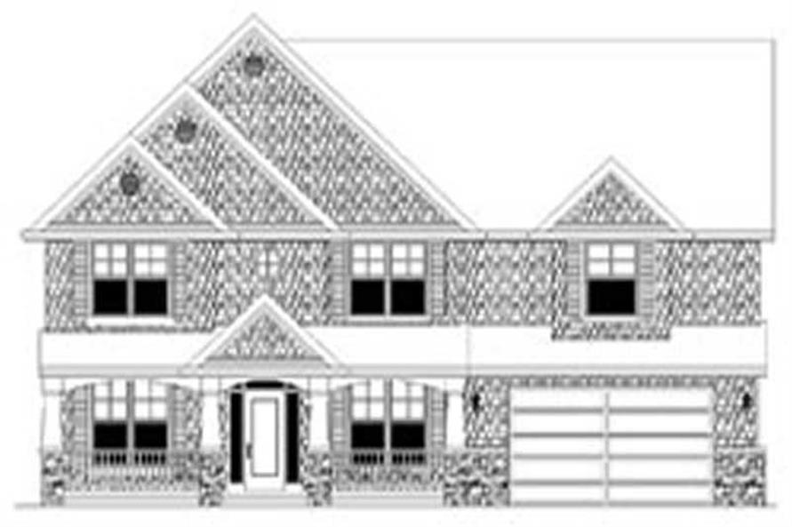 Main image for house plan # 2439