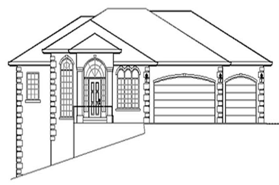 Main image for house plan # 2436