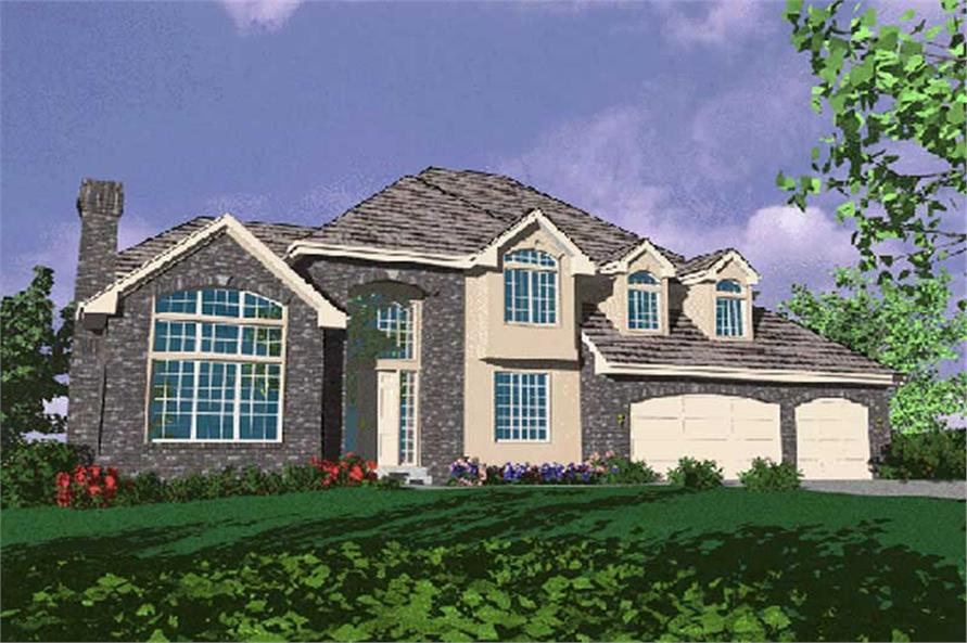 Main image for house plan # 2442