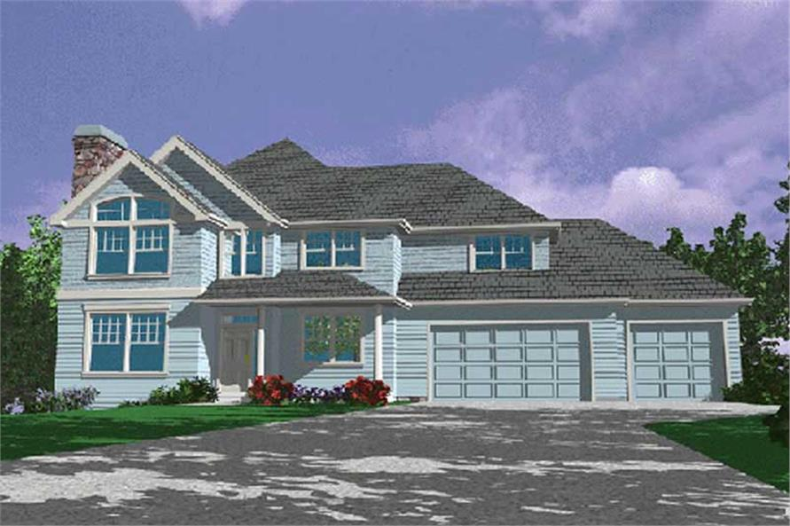 Main image for house plan # 2386