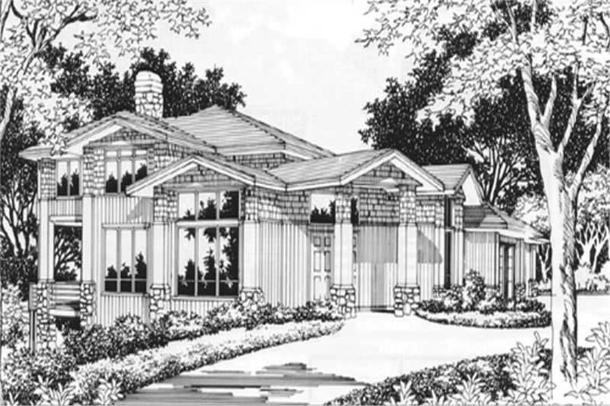 Main image for house plan # 2381