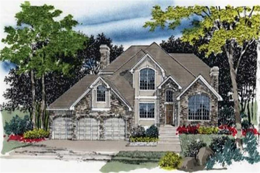 Main image for house plan # 2380