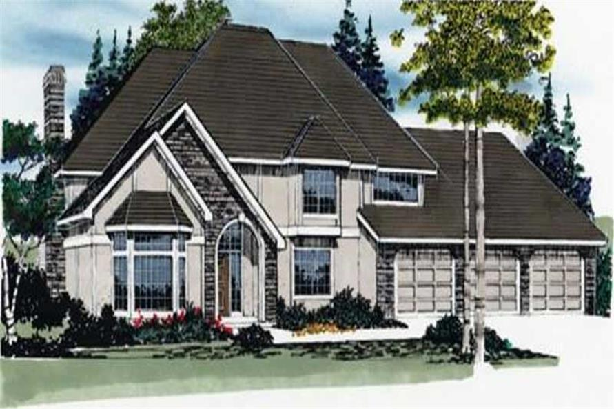 Main image for house plan # 2377