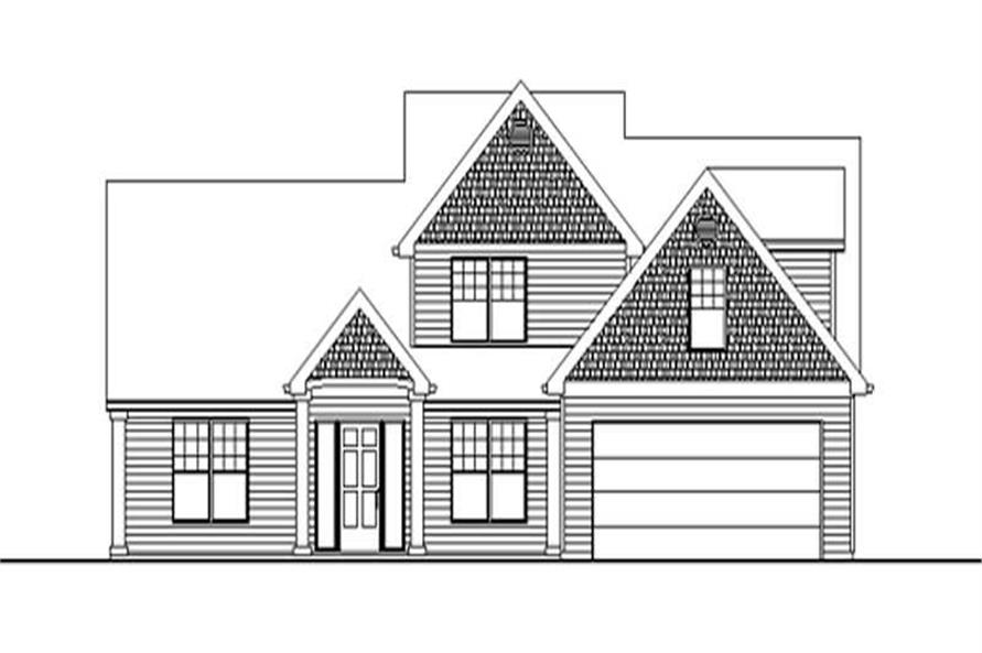 Main image for house plan # 2372