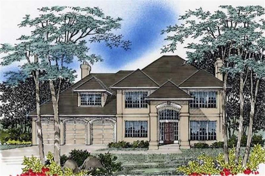 Main image for house plan # 2365