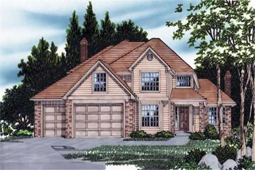 Main image for house plan # 2397
