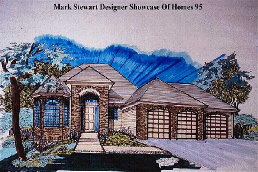 Main image for house plan # 2409