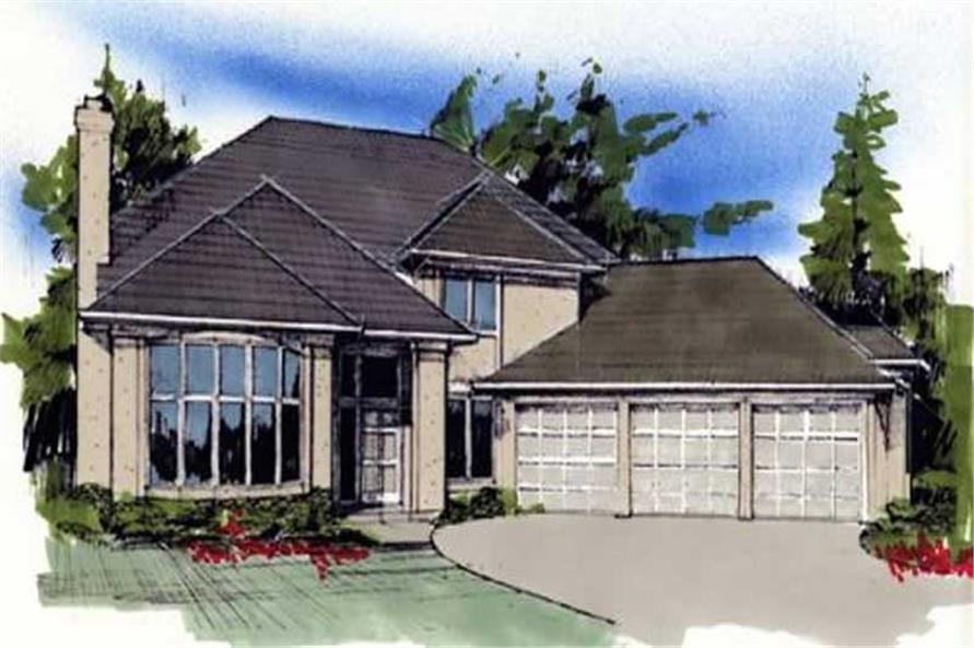 Main image for house plan # 2406