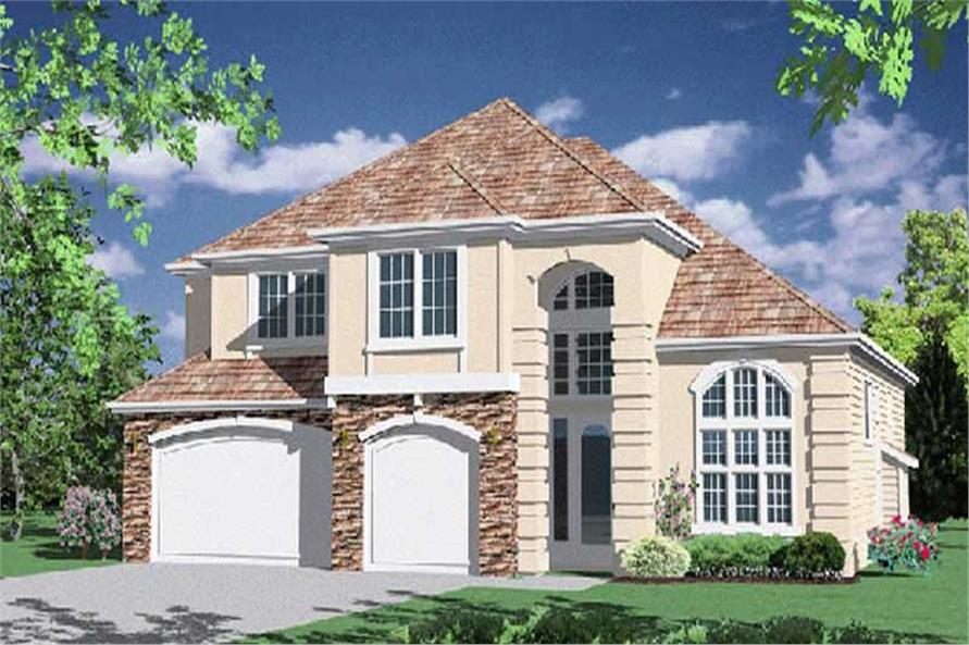 Main image for house plan # 2405