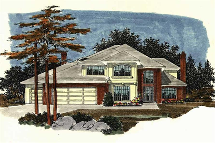 Main image for house plan # 2401