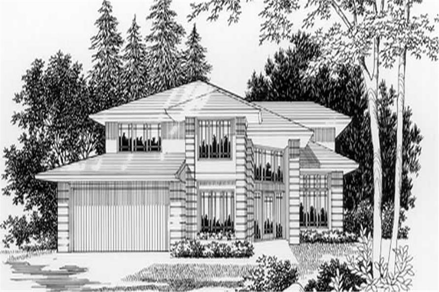 Main Elevation for ms3198