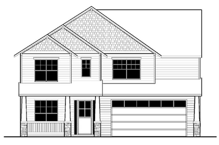Main image for house plan # 2709