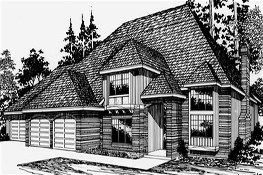 Main image for house plan # 2400