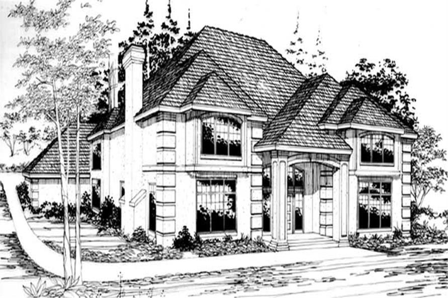 Main image for house plan # 2388