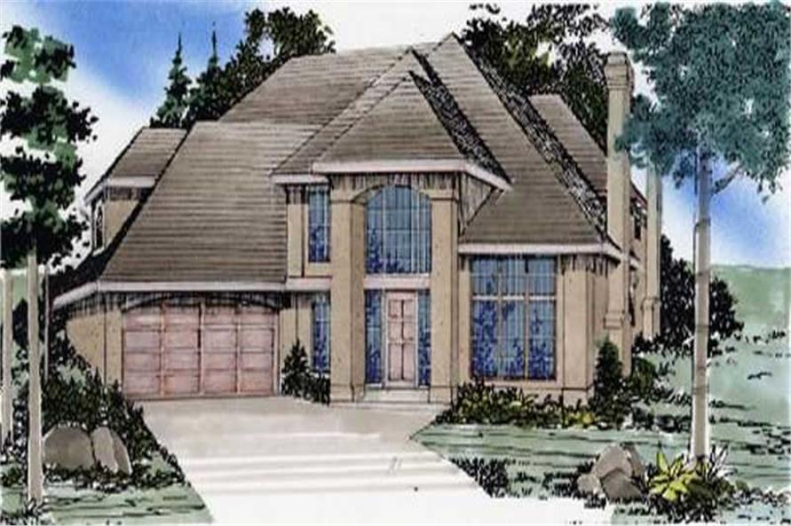 Main image for house plan # 2395