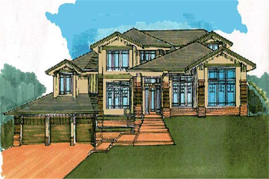 Main image for house plan # 2394