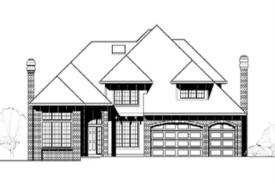 Main image for traditional house plan # 2403