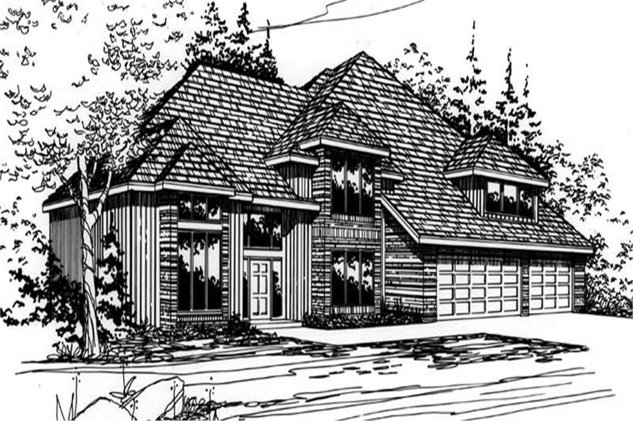Main image for house plan # 2516