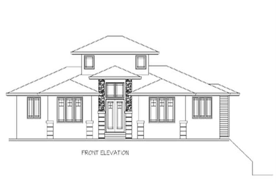 Main image for house plan # 2333