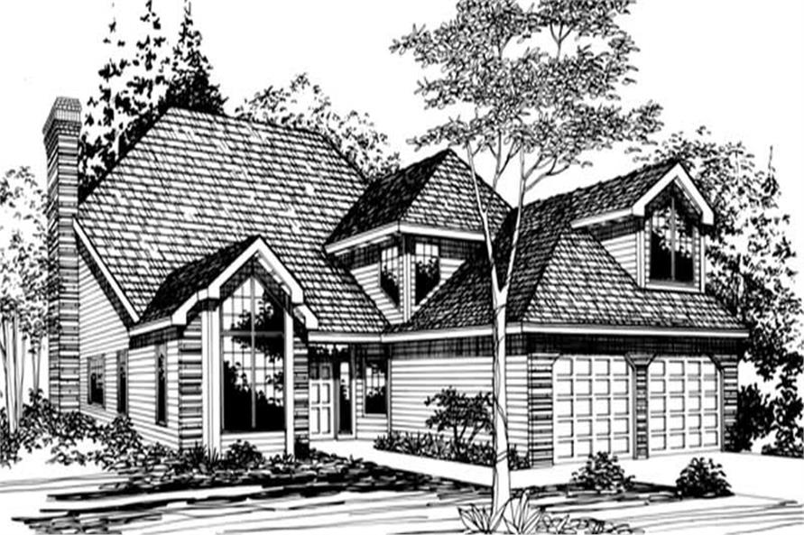 Main image for house plan # 2484