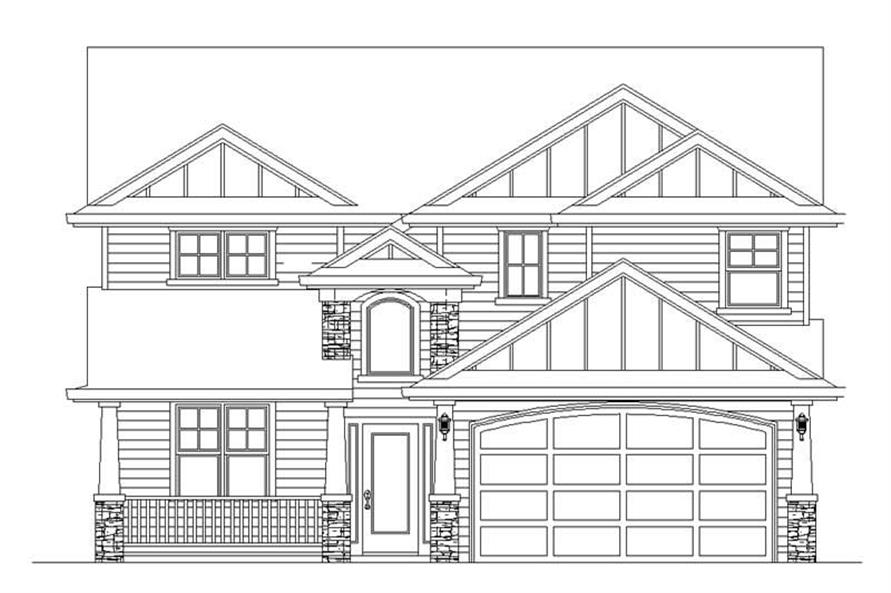 Main image for house plan # 2485