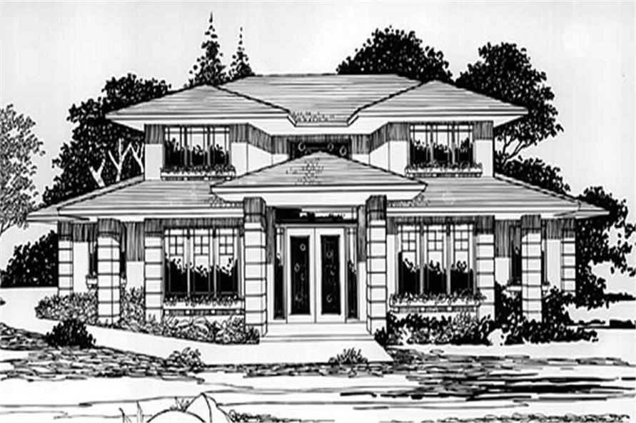 Main image for house plan # 2487