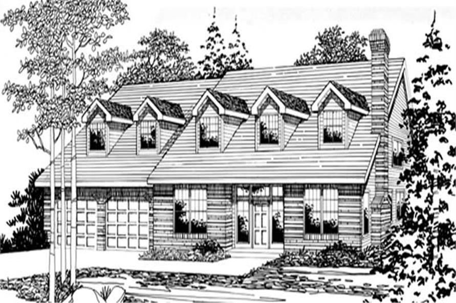 Main image for house plan # 2501