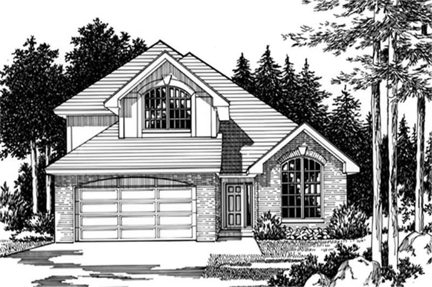 Main image for house plan # 2489
