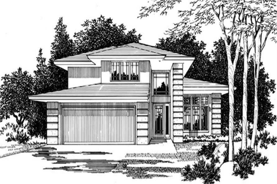 Main image for house plan # 2490