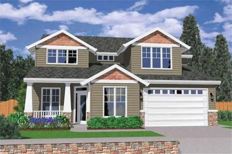Main image for house plan # 2492
