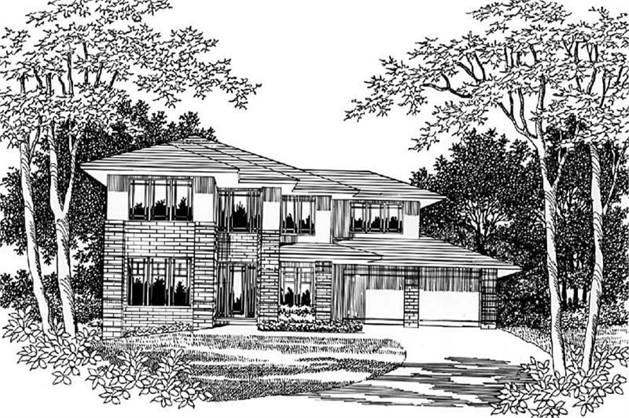 Main image for house plan # 2497