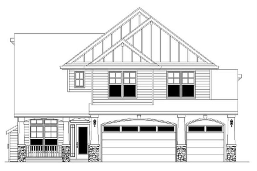 Main image for house plan # 2328
