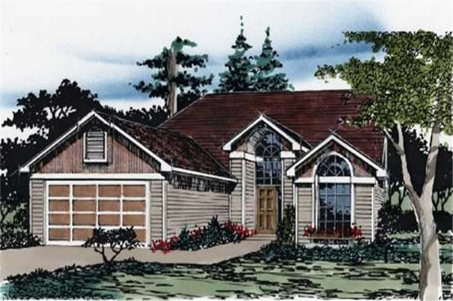 Main image for house plan # 2237