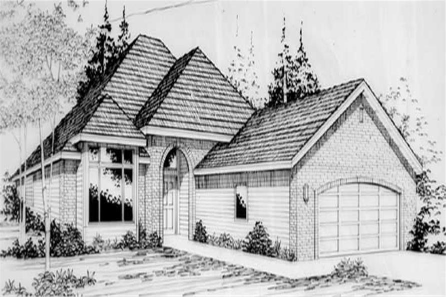 Main image for house plan # 2236