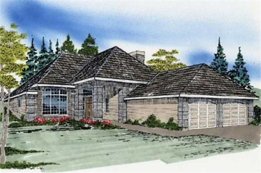 Main image for house plan # 2235