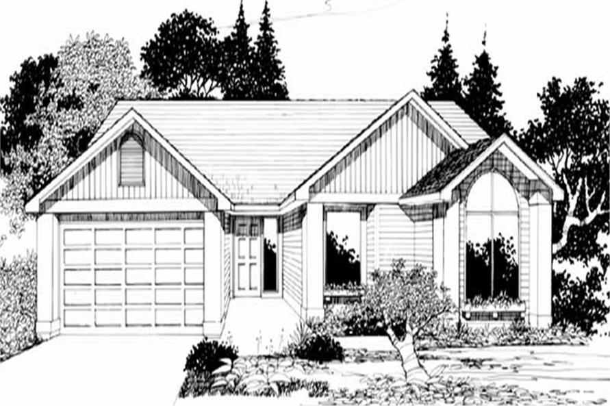 Main image for house plan # 2233