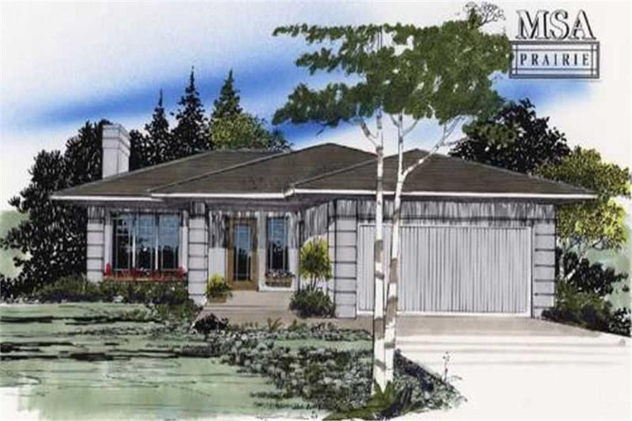 Main image for house plan # 2231