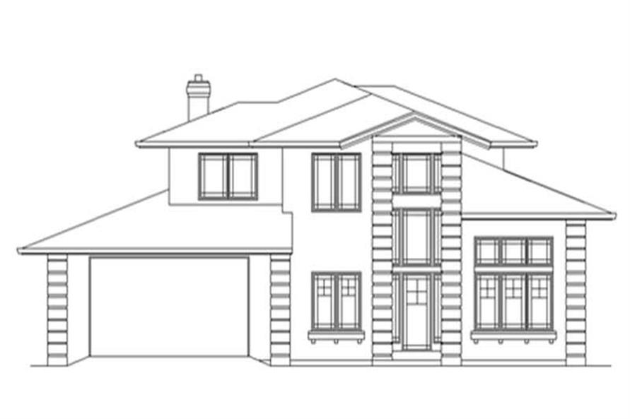 Main image for house plan # 2800