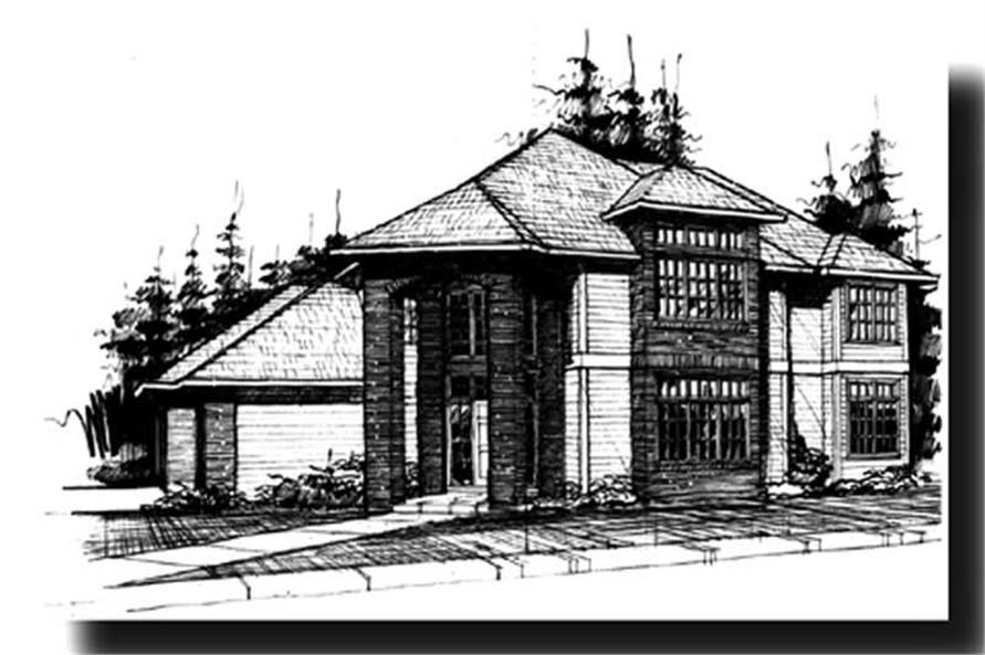 Main image for house plan # 2616