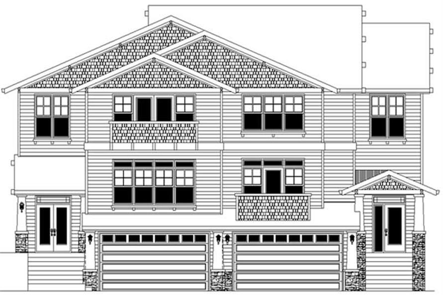 Main image for house plan # 2483