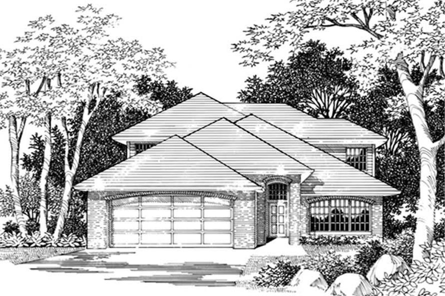 Main image for house plan # 2465