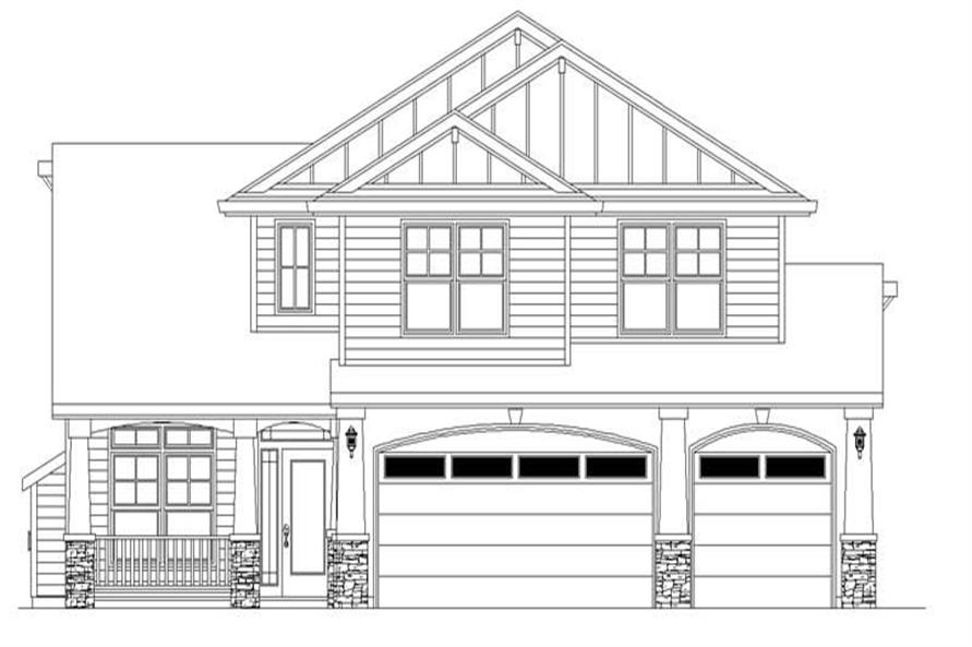 Main image for house plan # 2461