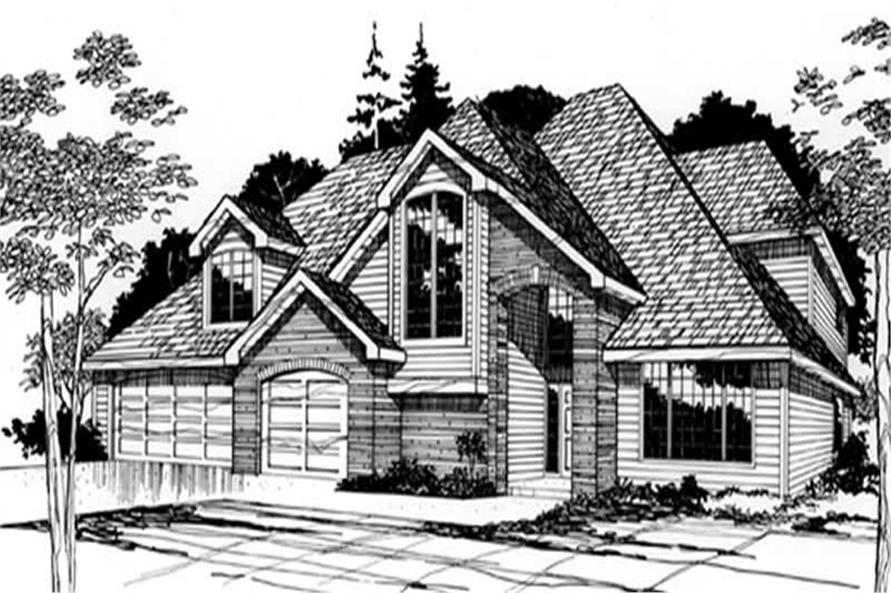 Main image for house plan # 2460