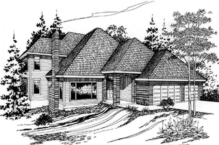 Main image for house plan # 2500