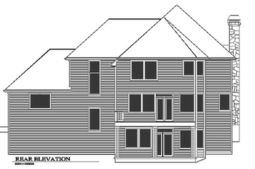 Rear Elevation for ms3915