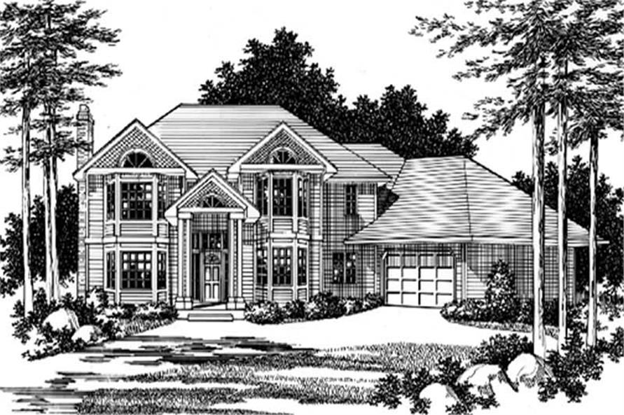 Main image for house plan # 2455