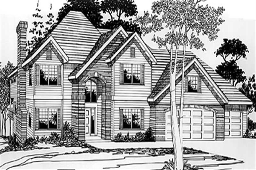 Main image for house plan # 2454