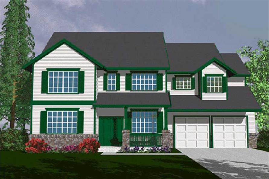 Main image for house plan # 2472