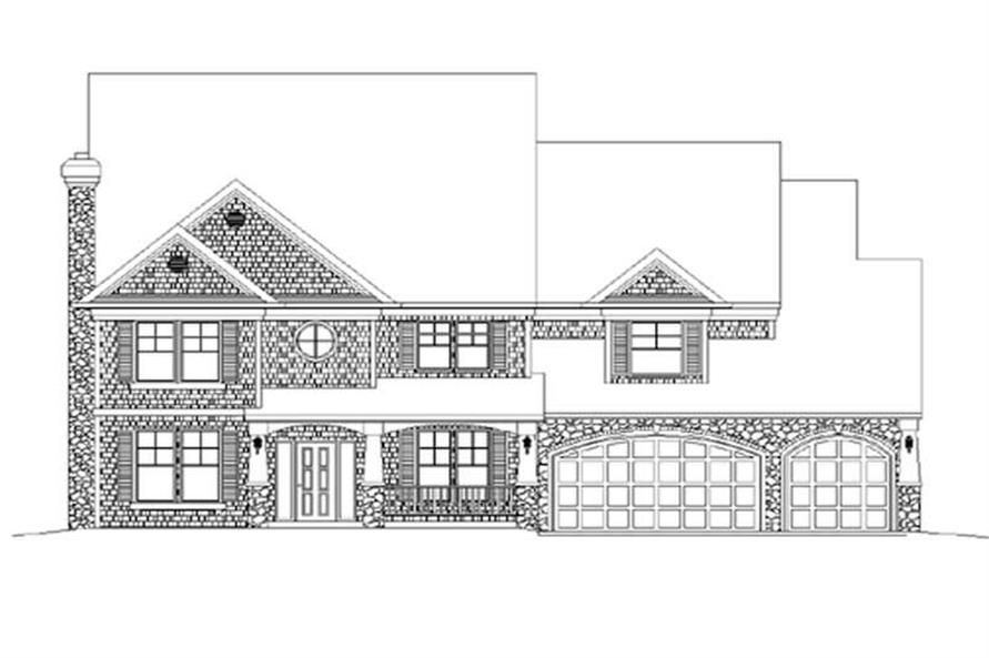 Main image for house plan # 2356