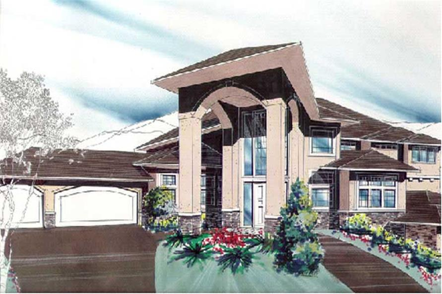 Main image for contemporary house plan # 2357